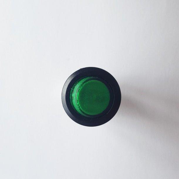 Mini vippekontakt Grøn 1 - 0